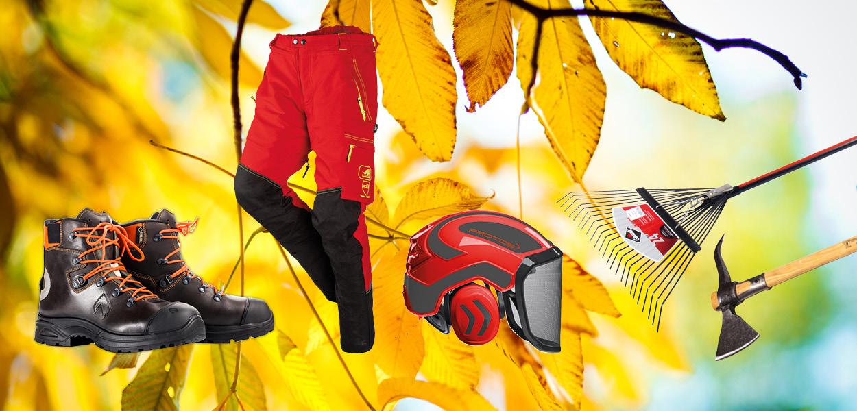 Hallo Herbst! Finden Sie hier die passenden Artikel für die Forstsaison