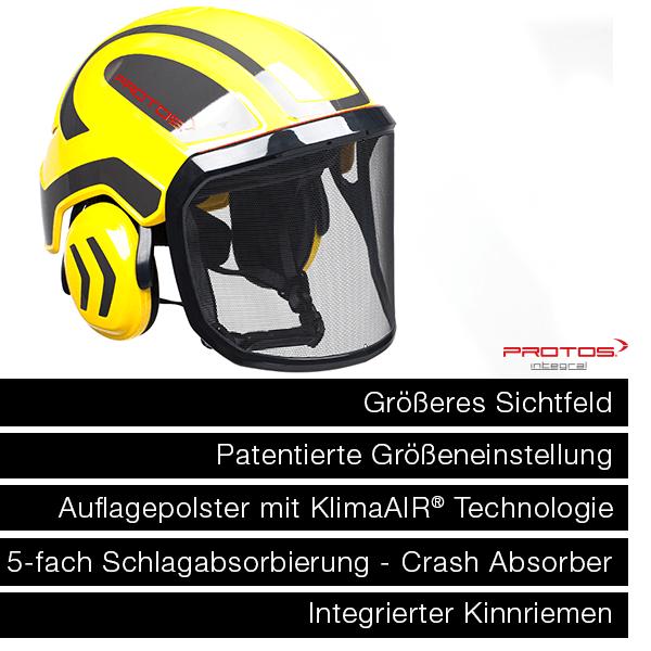 >> Hier geht es zu den PROTOS® Integral Arborist Helmen